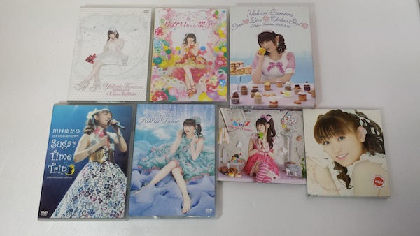 田村ゆかりCD・DVD