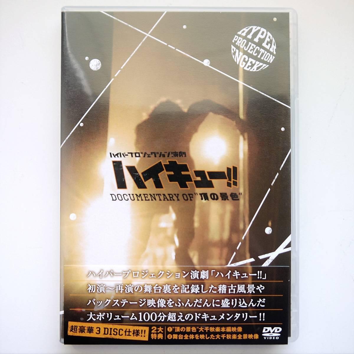 DVD 舞台 ハイパープロジェクション演劇 ハイキュー!! Documentary of 頂の景色