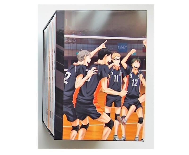BD全巻セット ハイキュー!!セカンドシーズン 2期 初回生産限定版 TSUTAYA特典全巻収納BOX付き