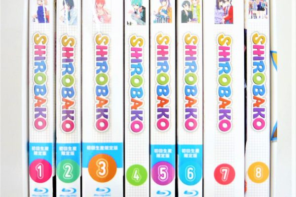 SHIROBAKO Blu-ray 全巻収納BOX付き高価買取しました♪