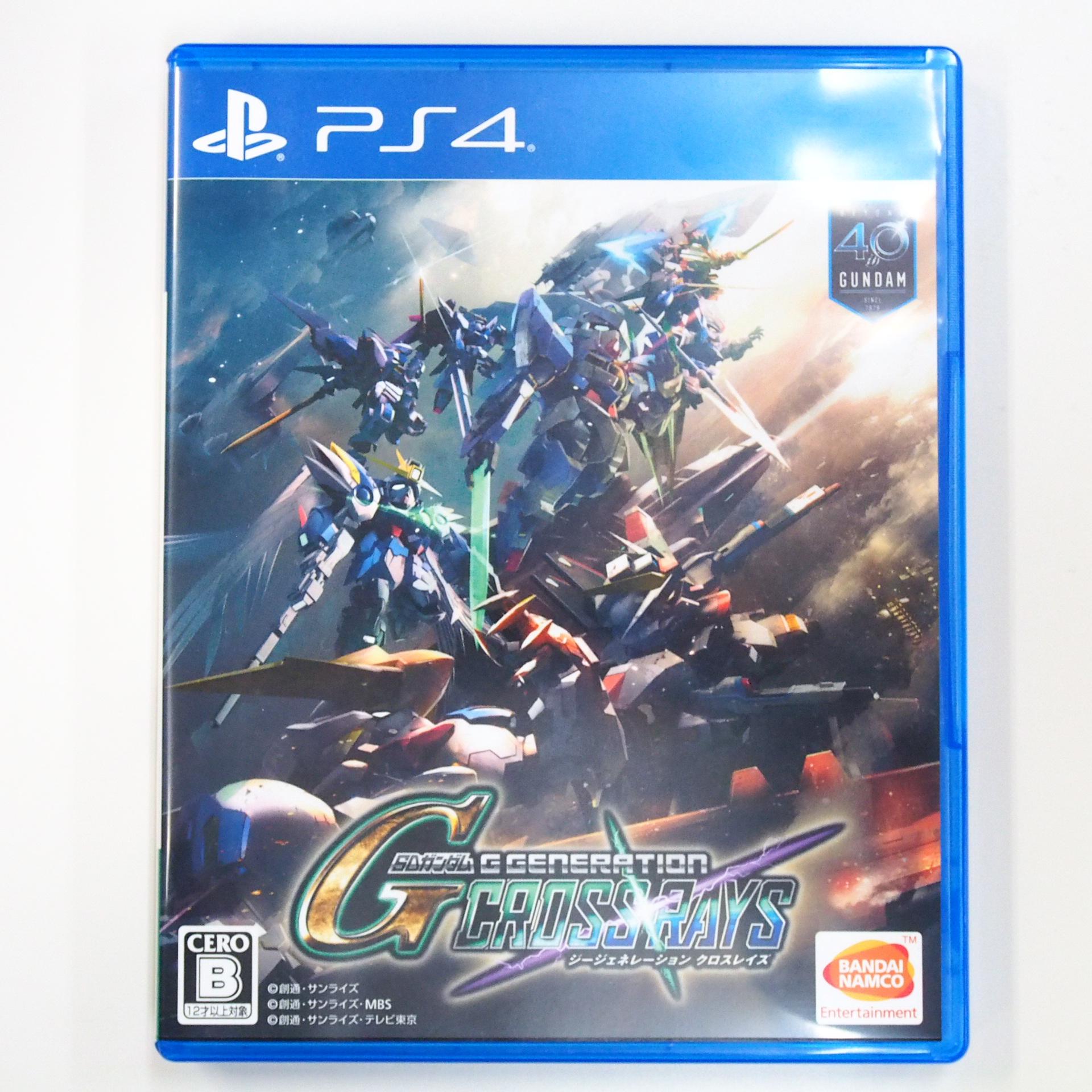 PS4 SDガンダム ジージェネレーション クロスレイズ