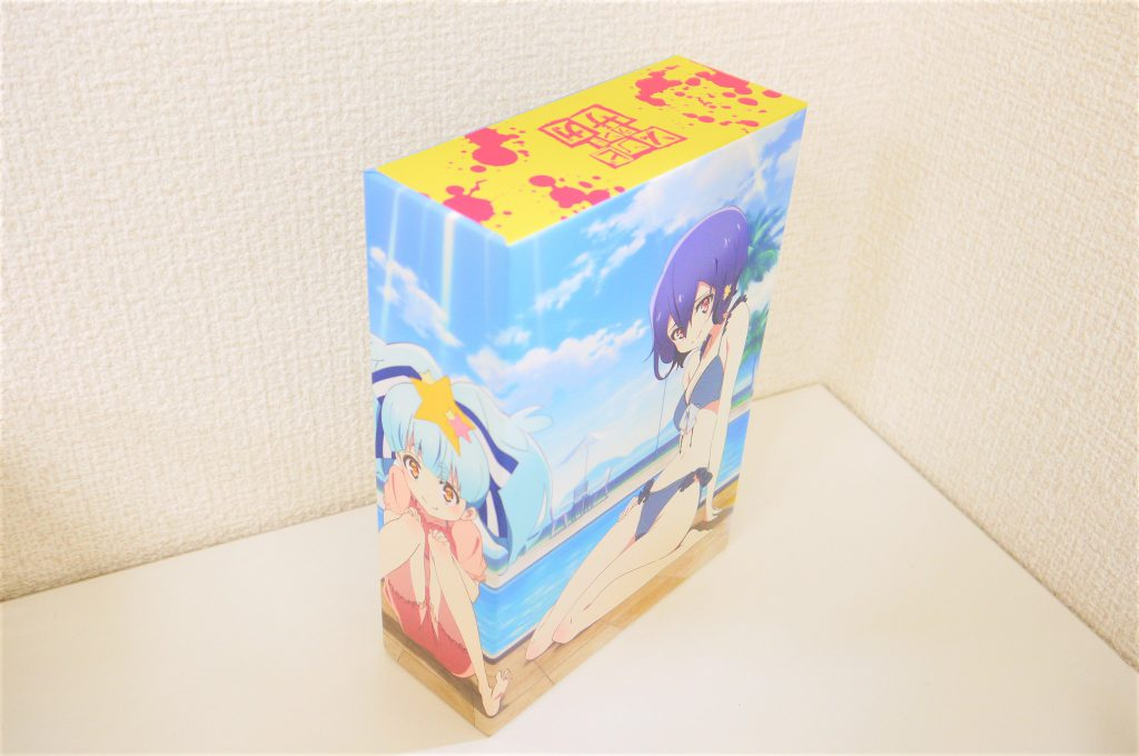 ゾンビランドサガブルーレイAmazon全巻購入特典収納BOX横からの画像