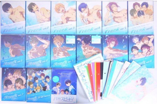 Free! 1期2期劇場版 DVD&ブルーレイ高価買取しました!