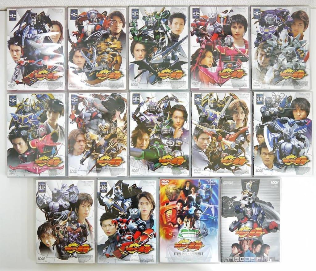 特撮DVD 仮面ライダー龍騎 全巻セット
