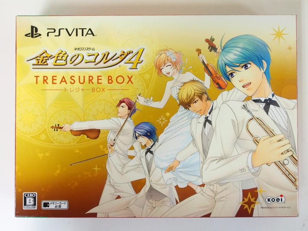 PS Vita 金色のコルダ4 トレジャーBOX
