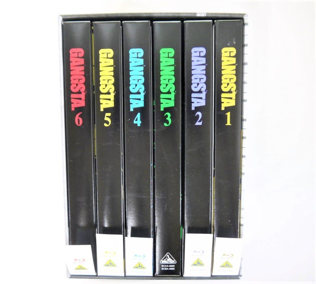 [買取]ブルーレイ GANGSTA. 特装版 全6巻セット 収納BOX付き
