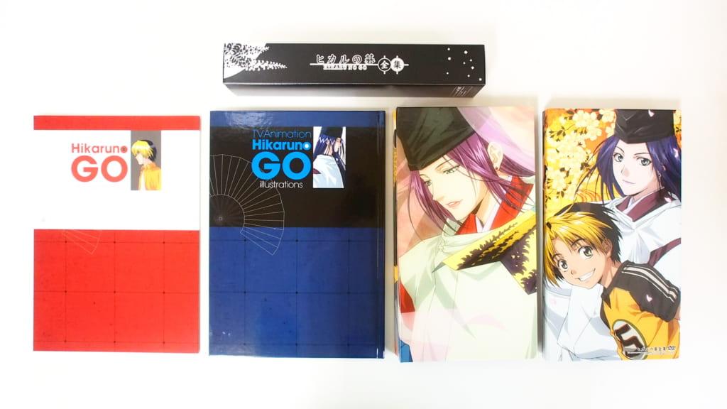 買取したヒカルの碁全集DVD-BOXの付属品一覧