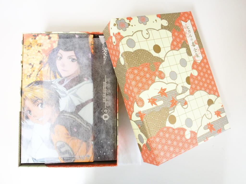 買取したヒカルの碁全集DVD-BOX 初回限定生産 予約購入特典つきの表紙
