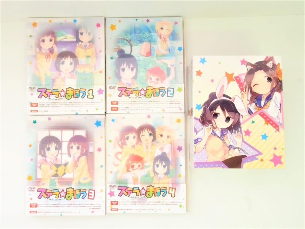 [買取]DVD ステラのまほう 初回版 全4巻セット とらのあな全巻収納BOX付き