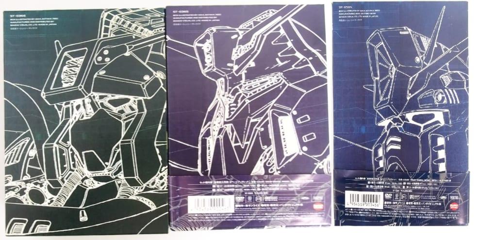 機動戦士ガンダムZZ メモリアルボックス 初回限定 全3BOXセットの裏表紙