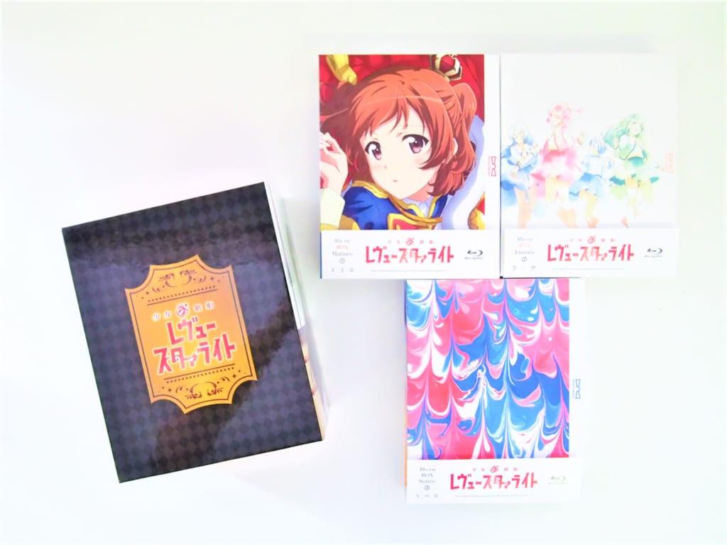 少女☆歌劇 レヴュースタァライト Blu-ray BOX 初回生産版 全3BOXセット 高価買取!