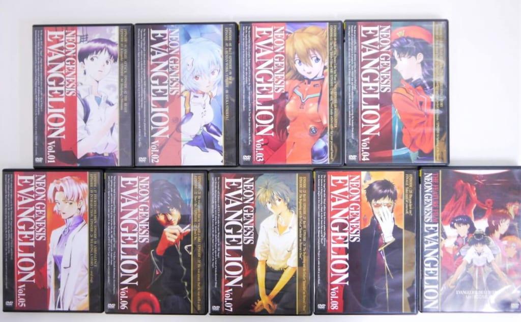 NEON GENESIS EVANGELION/1-8巻/新世紀エヴァンゲリオン/劇場版 Air/まごころを、君に DVDセット