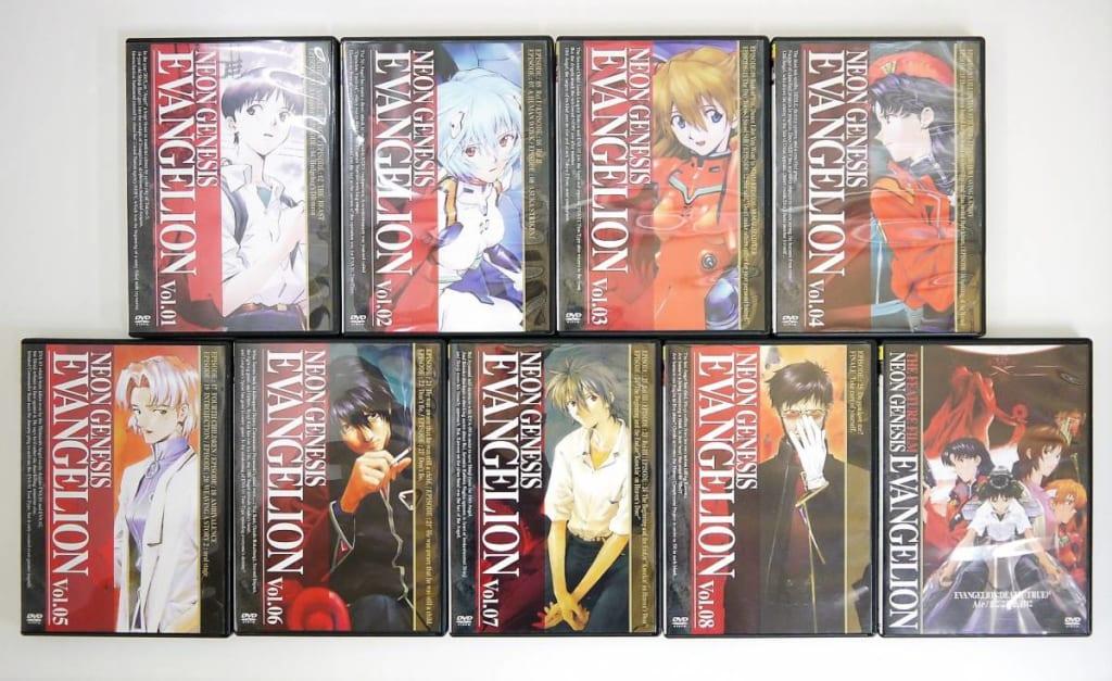 新世紀エヴァンゲリオン DVD・ブルーレイ 高価買取中!