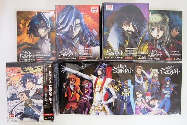 コードギアス 亡国のアキト DVD・Blu-ray 高価買取中!