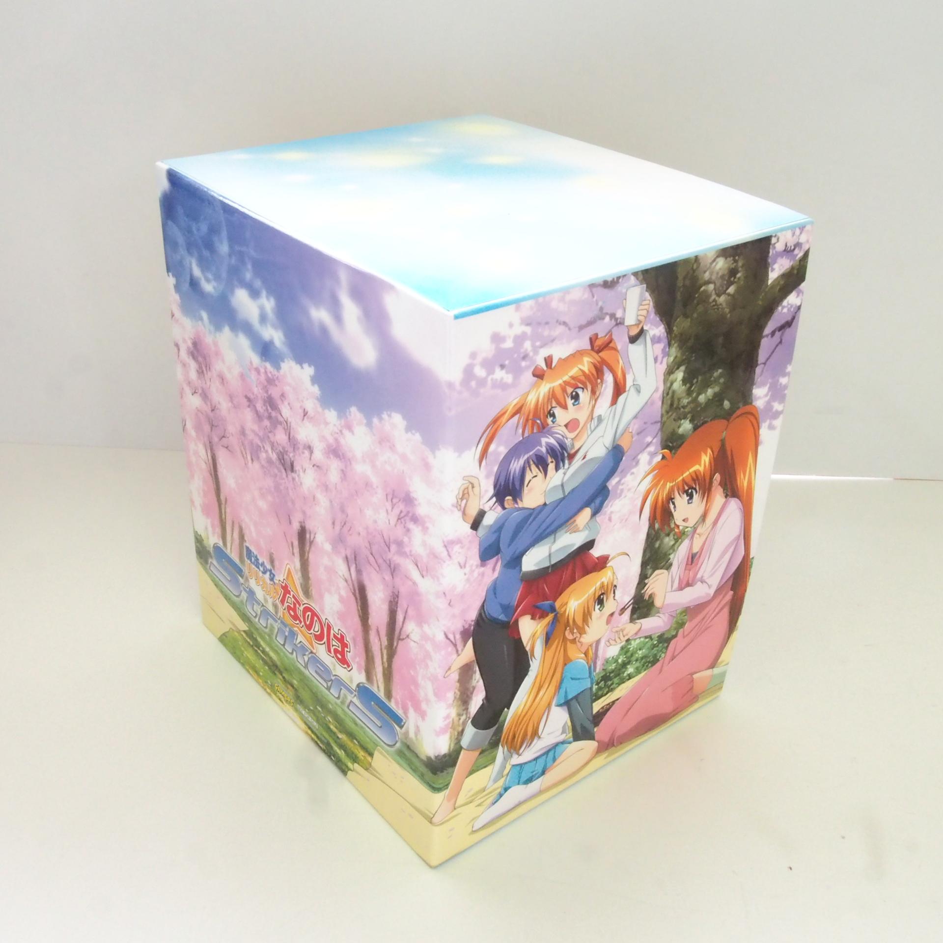 買取した魔法少女リリカルなのはStrikerS ゲーマーズ特典BOXの後ろ側