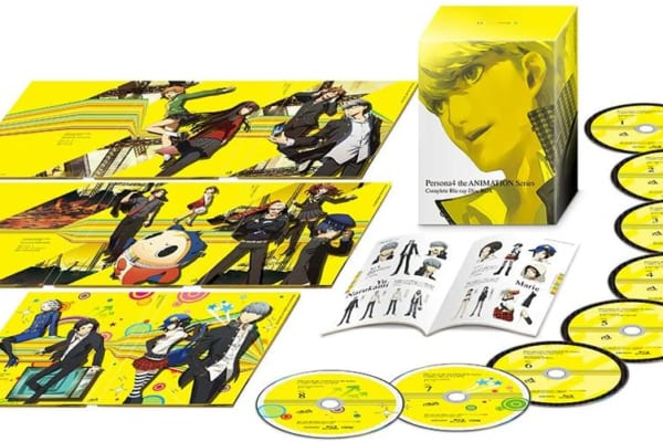 ペルソナ4 the ANIMATION Series Complete Blu-ray Disc BOX高価買取中!